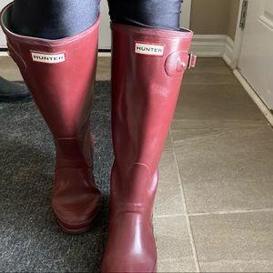 Merlot Hunter Boots